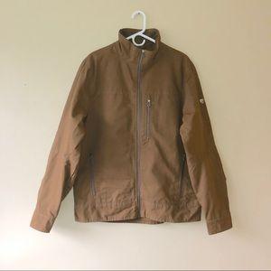 KUHL Vintage Patina Dye Men's Brown Jacket Sz L